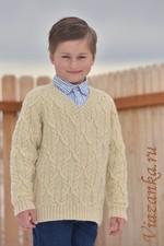 Джемпер для мальчика младшего школьного возраста