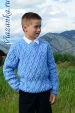 свитер для мальчика 9-11 лет