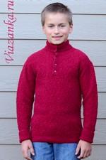 свитер с воротником миниатюра 150Х225