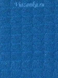 Образец вязания.