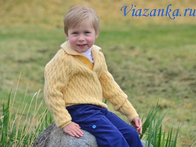 Готовый свитер