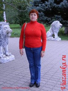 Ажурный свитер_Общий вид 1