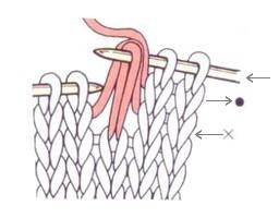 Снимаемая петля с двумя накидами