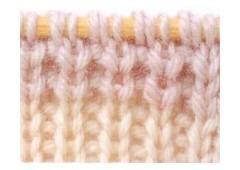 Образец вязания 1