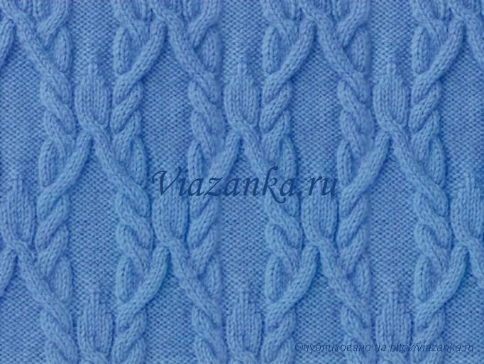 Вязание на спицах орнамент и схемы