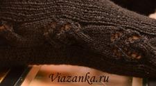 Ажурная декоративная вставка штанишек для девочки
