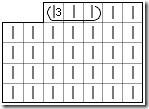 Схема вязания обвитых петель