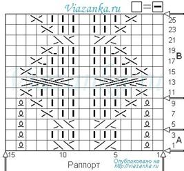 """Схема вязания жгута """"Морской узел"""""""