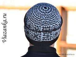шов на затылочной части шапки