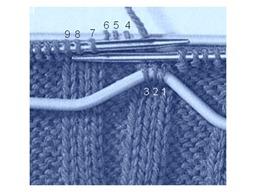 порядок вязания сложного жгута 1