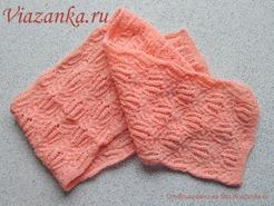 вид 2 шарфа для девочки