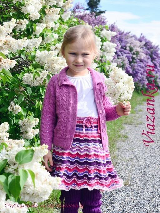 юбка-сарафан для девочки