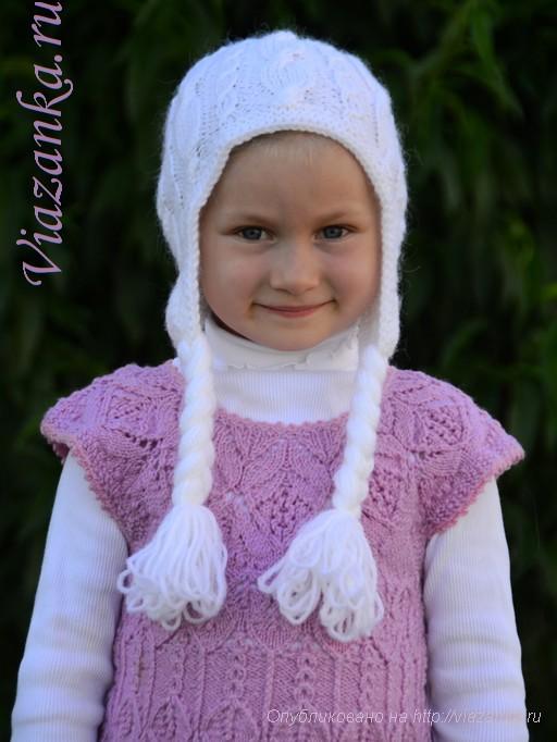 "шапочка ""Принцесса Эльза"" для девочки 1"