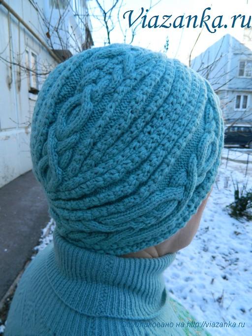 шапка чалма 1