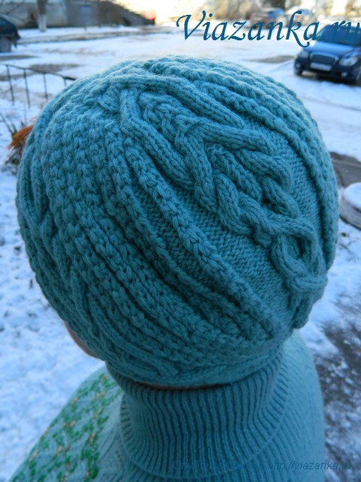 шапка чалма 7