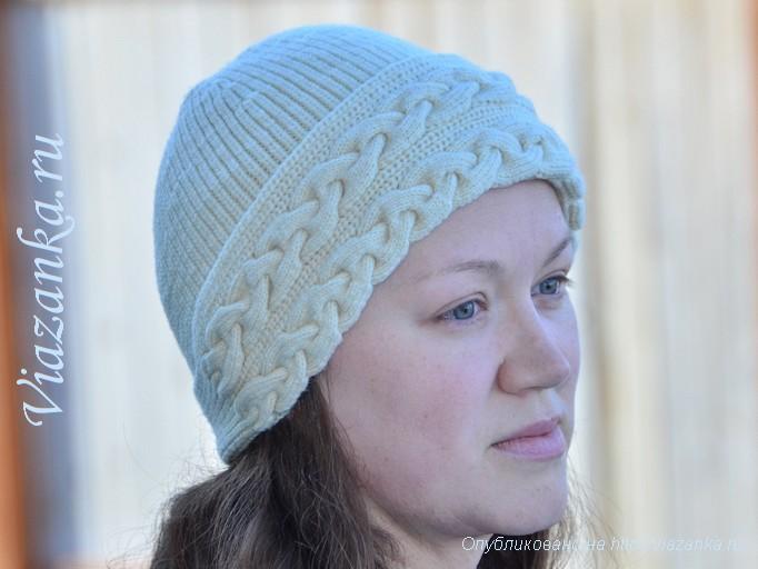 шапочка с косами 1