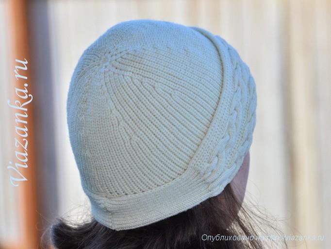 шапочка с косами 3