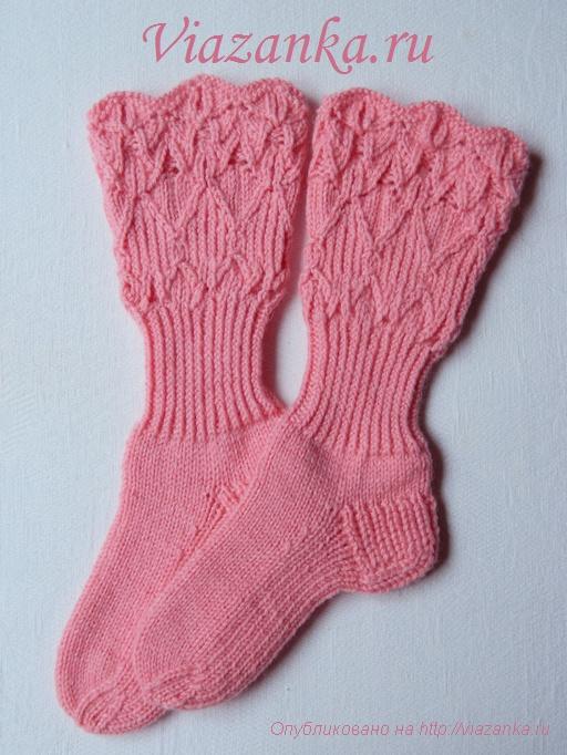 Ажурные носочки для девочки 2