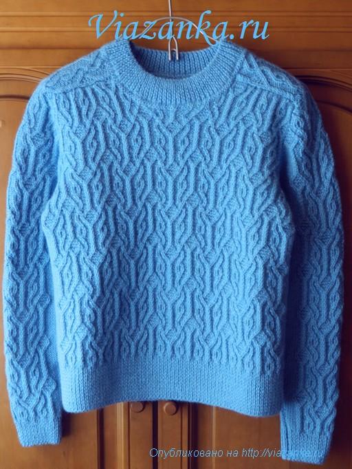 вид спереди свитера для подростка