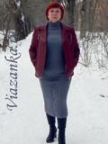 юбка спицами для женщины миниатюра